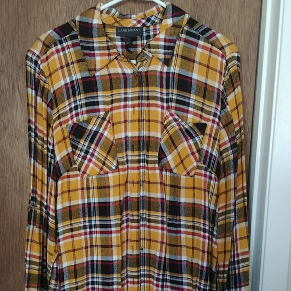 e4c242123e6 Lane Bryant Tops - Lane Bryant flannel shirt